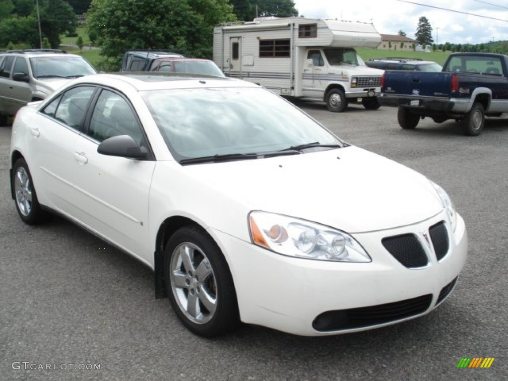 2006 Ivory White Pontiac G6 Gt Sedan 66122036 Gtcarlot Com Car Color Galleries