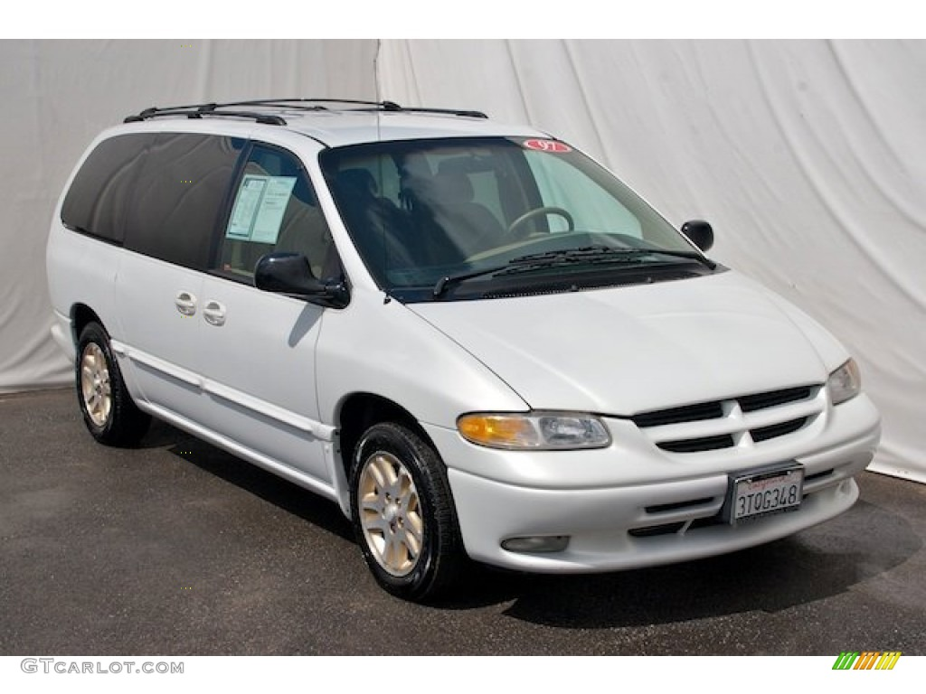 Golden White Pearl 1997 Dodge Grand Caravan ES Exterior Photo ...