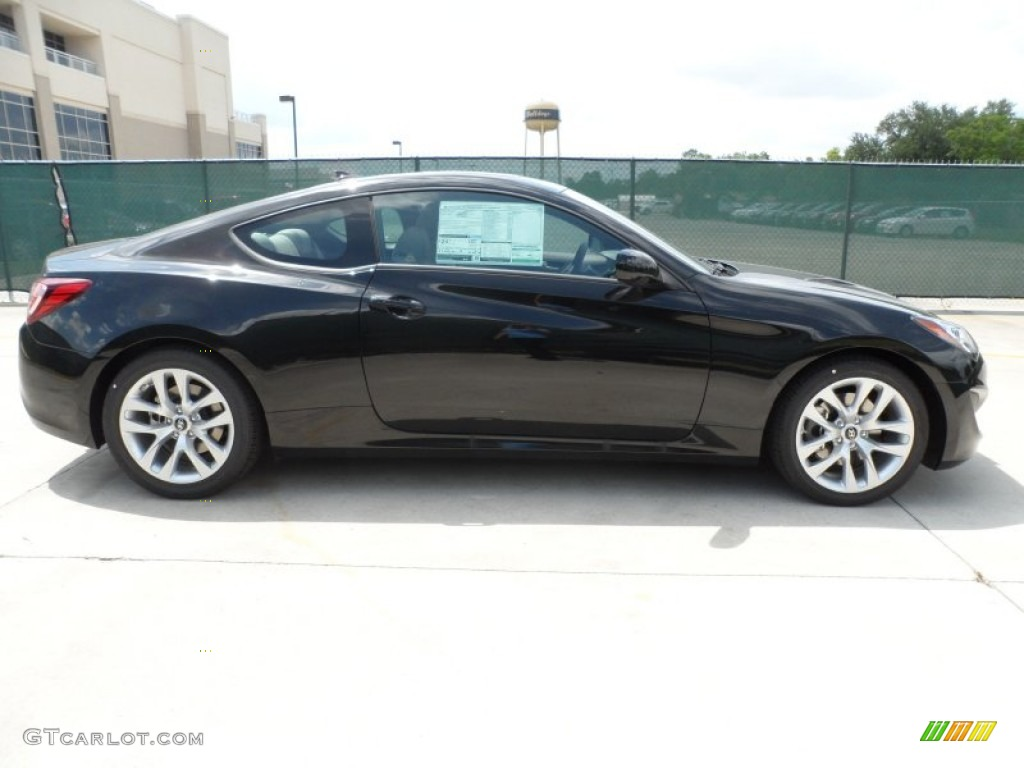 Becketts Black 2013 Hyundai Genesis Coupe 2 0t Exterior