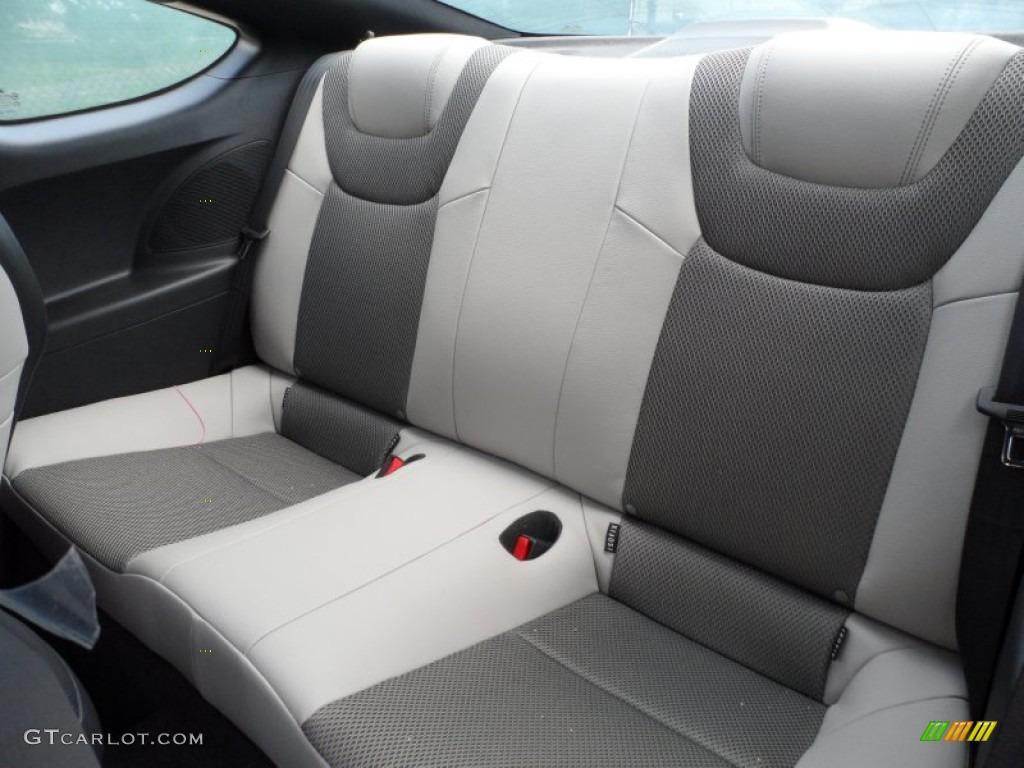 Black Cloth Interior 2013 Hyundai Genesis Coupe 2 0t Photo