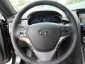 Black Cloth Steering Wheel Photo for 2013 Hyundai Genesis Coupe #66186617