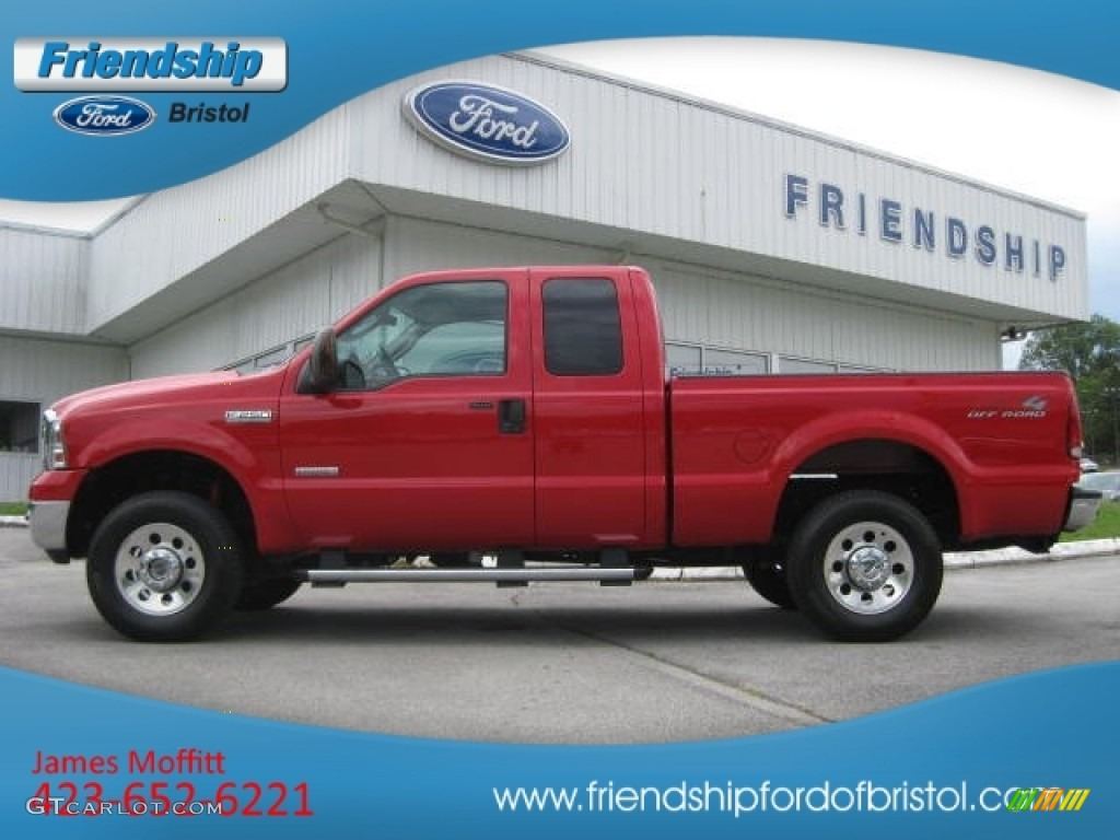 Red clearcoat ford f250 super duty