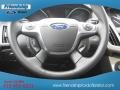 2012 White Platinum Tricoat Metallic Ford Focus SEL Sedan  photo #42