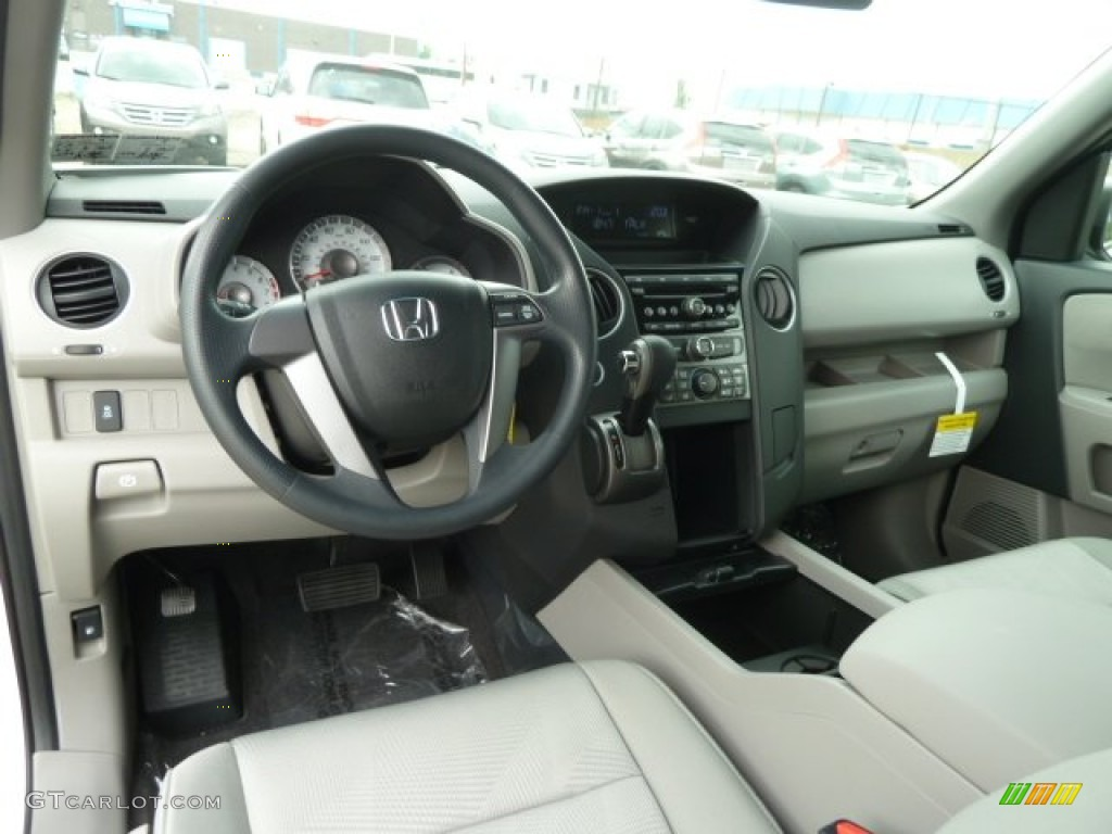 Gray interior 2012 honda pilot lx 4wd photo 66193927 - 2012 honda pilot exterior colors ...