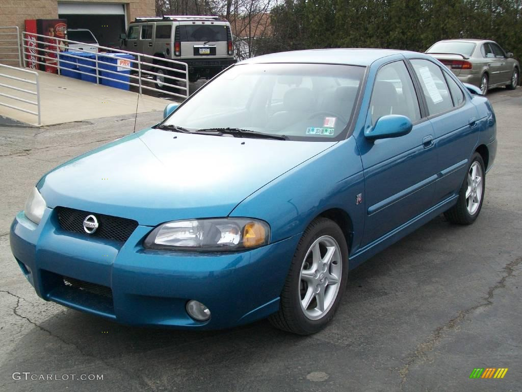 2002 vibrant blue metallic nissan sentra se r 6568655 car color galleries. Black Bedroom Furniture Sets. Home Design Ideas