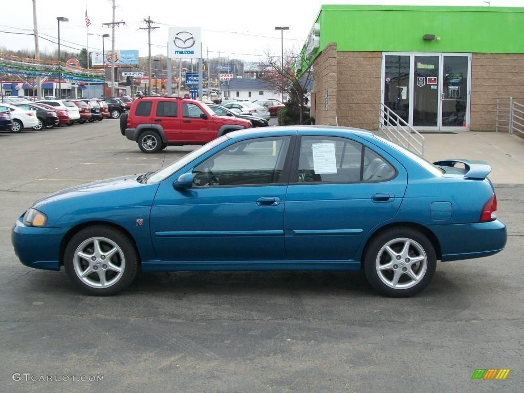 2002 vibrant blue metallic nissan sentra se r 6568655 photo 2 car color galleries. Black Bedroom Furniture Sets. Home Design Ideas