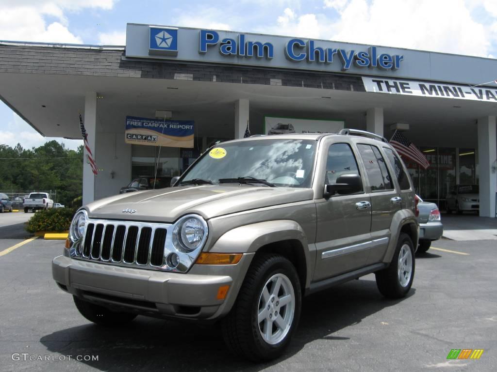Light Khaki Metallic Jeep Liberty. Jeep Liberty Limited