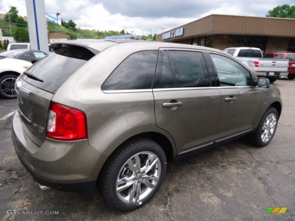 2013 mineral gray metallic ford edge limited awd 66207602 photo 2 car color. Black Bedroom Furniture Sets. Home Design Ideas