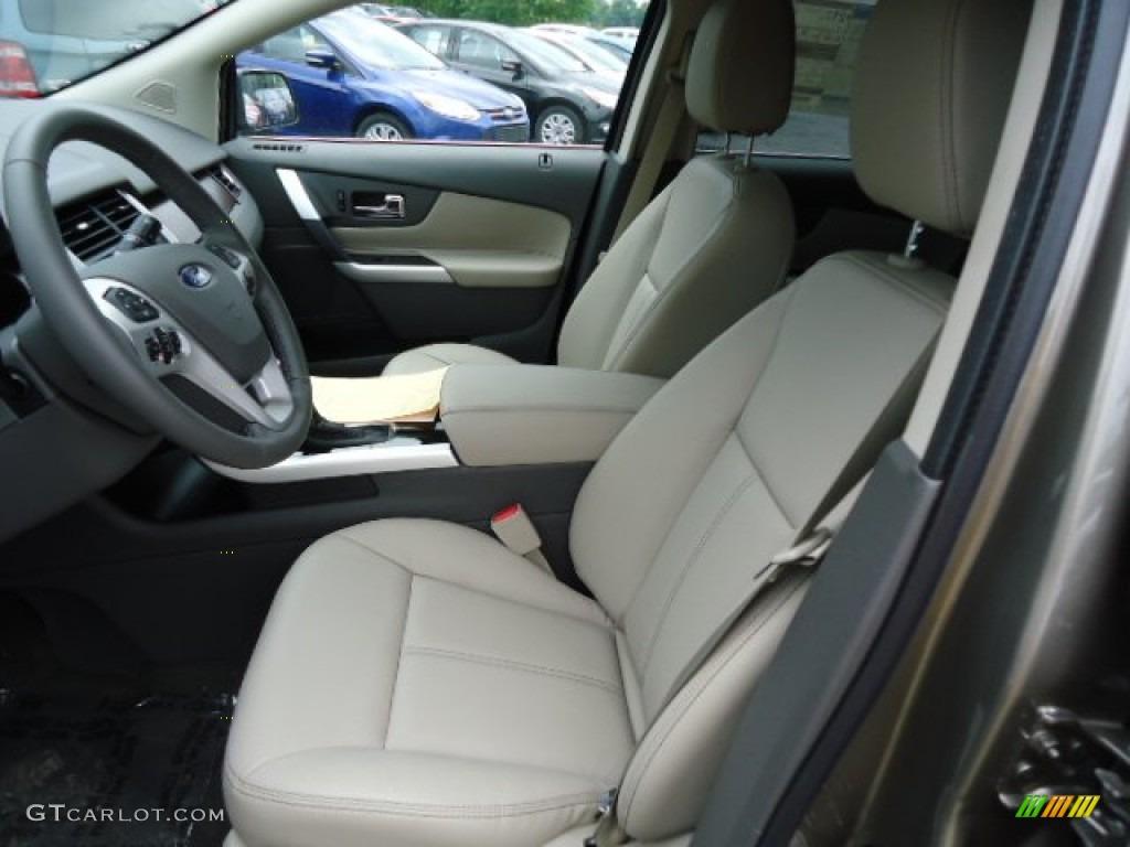 Medium Light Stone Interior  Ford Edge Limited Awd Photo