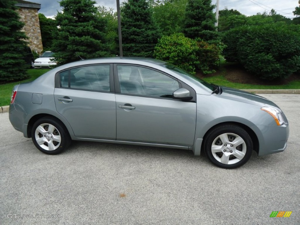 magnetic gray 2008 nissan sentra 2 0 s exterior photo. Black Bedroom Furniture Sets. Home Design Ideas