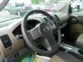 2007 Nissan Xterra Desert/Graphite Interior Steering Wheel Photo