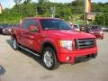 Vermillion Red 2010 Ford F150 Gallery