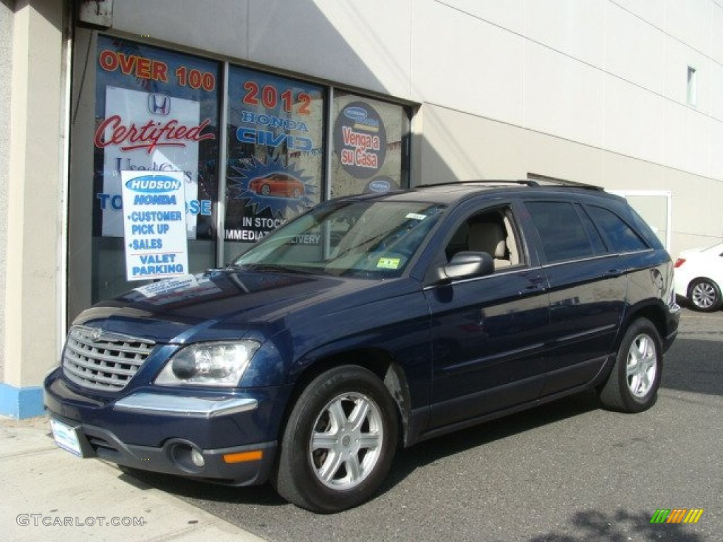 2005 midnight blue pearl chrysler pacifica touring awd 66208297 car color. Black Bedroom Furniture Sets. Home Design Ideas