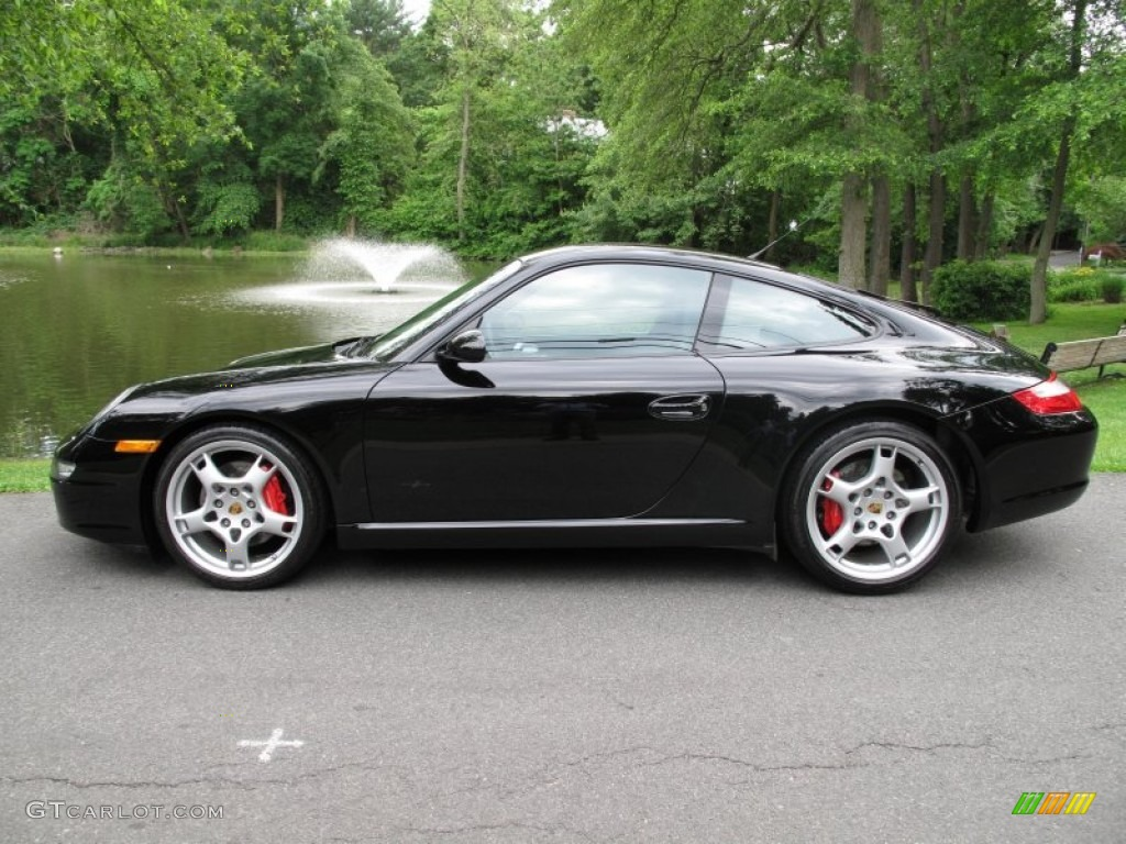 black 2006 porsche 911 carrera s coupe exterior photo. Black Bedroom Furniture Sets. Home Design Ideas