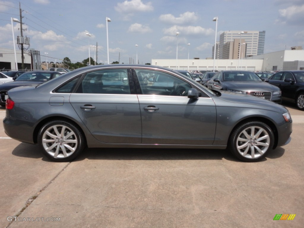 Monsoon Gray Metallic 2013 Audi A4 2.0T quattro Sedan Exterior Photo #66235146 | GTCarLot.com
