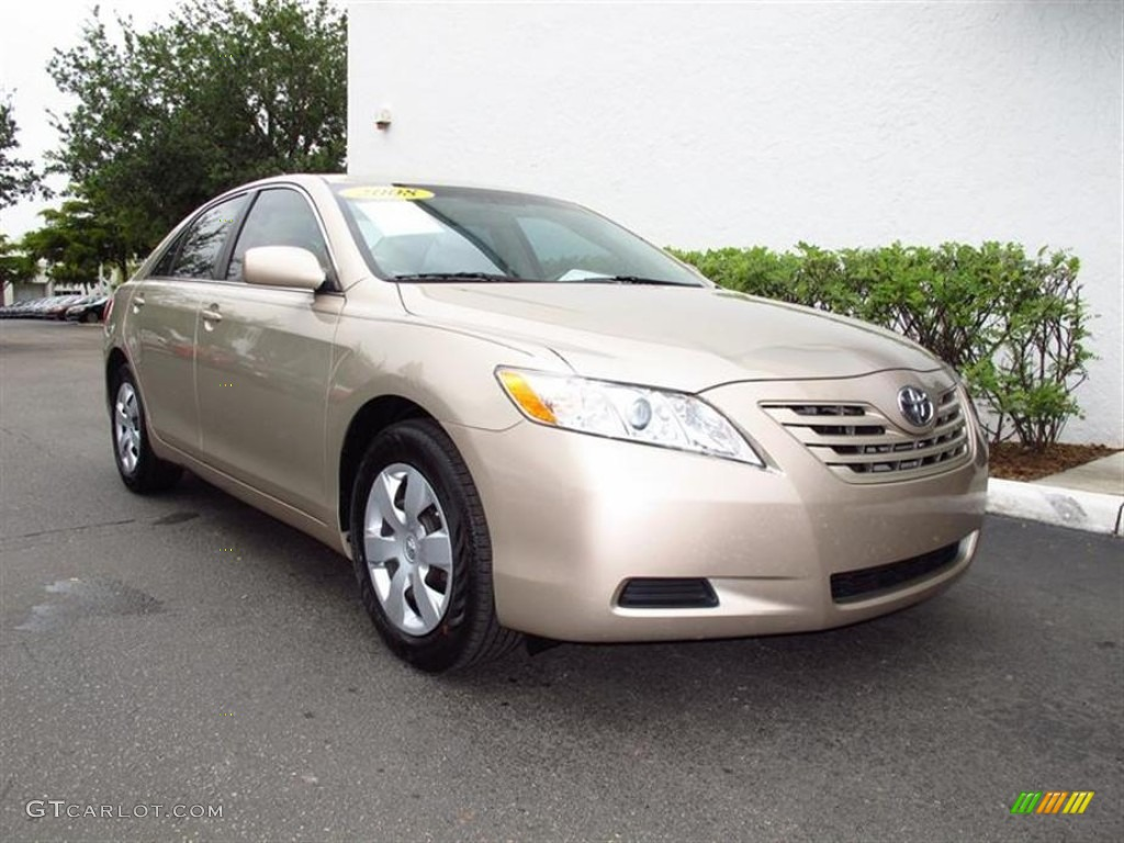 desert sand mica 2008 toyota camry le exterior photo. Black Bedroom Furniture Sets. Home Design Ideas
