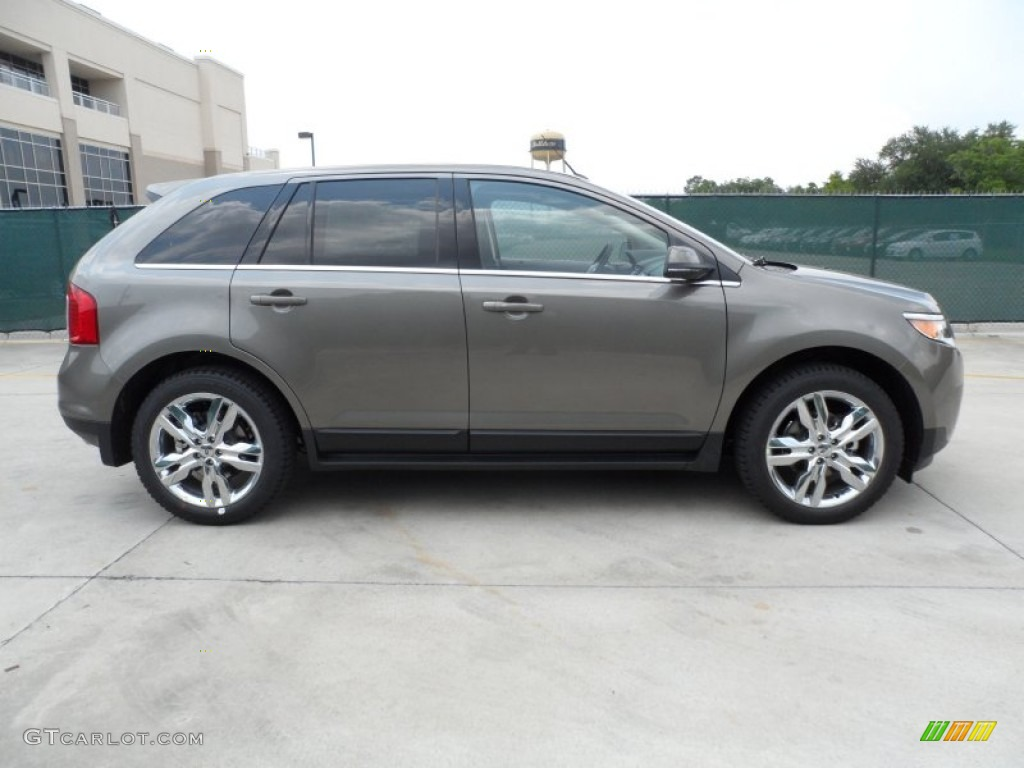Mineral Gray Metallic  Ford Edge Limited Ecoboost Exterior Photo