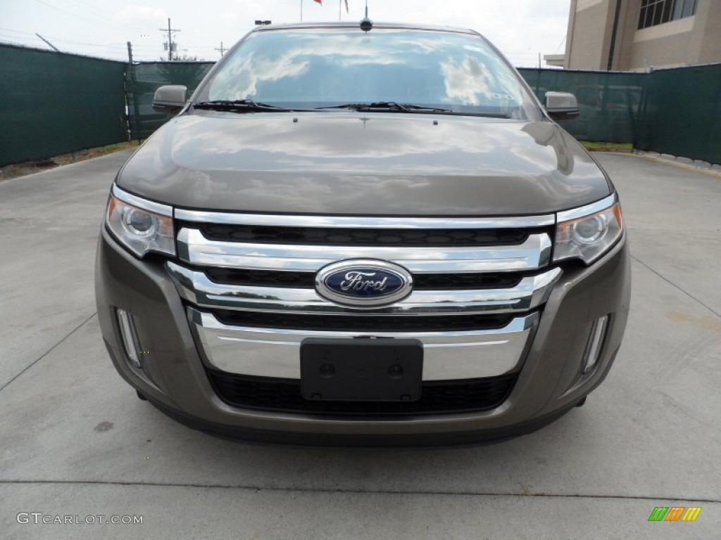 mineral gray metallic 2013 ford edge limited ecoboost exterior photo 66246547. Black Bedroom Furniture Sets. Home Design Ideas