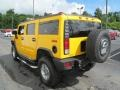Yellow 2006 Hummer H2 SUV Exterior