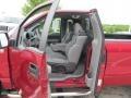 2007 F150 XLT Regular Cab 4x4 Medium Flint Interior