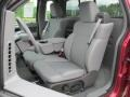 Front Seat of 2007 F150 XLT Regular Cab 4x4