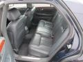 2006 Cadillac DTS Midnight Blue Interior Rear Seat Photo