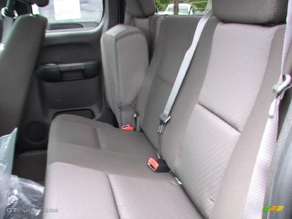 2012 Silverado 1500 LT Extended Cab - Graystone Metallic / Ebony photo #3