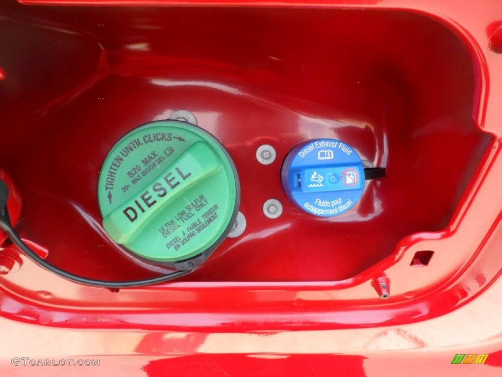 2012 ford f250 super duty lariat crew cab 4x4 diesel and diesel exhaust fluid filler photo