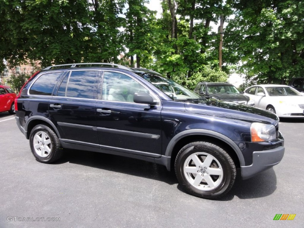 magic blue metallic 2006 volvo xc90 2 5t awd exterior photo 66255654. Black Bedroom Furniture Sets. Home Design Ideas