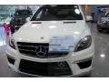 Arctic White 2012 Mercedes-Benz ML 63 AMG 4Matic