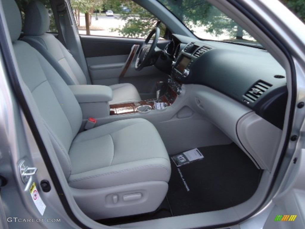 2012 Toyota Highlander Limited 4wd Interior Photos