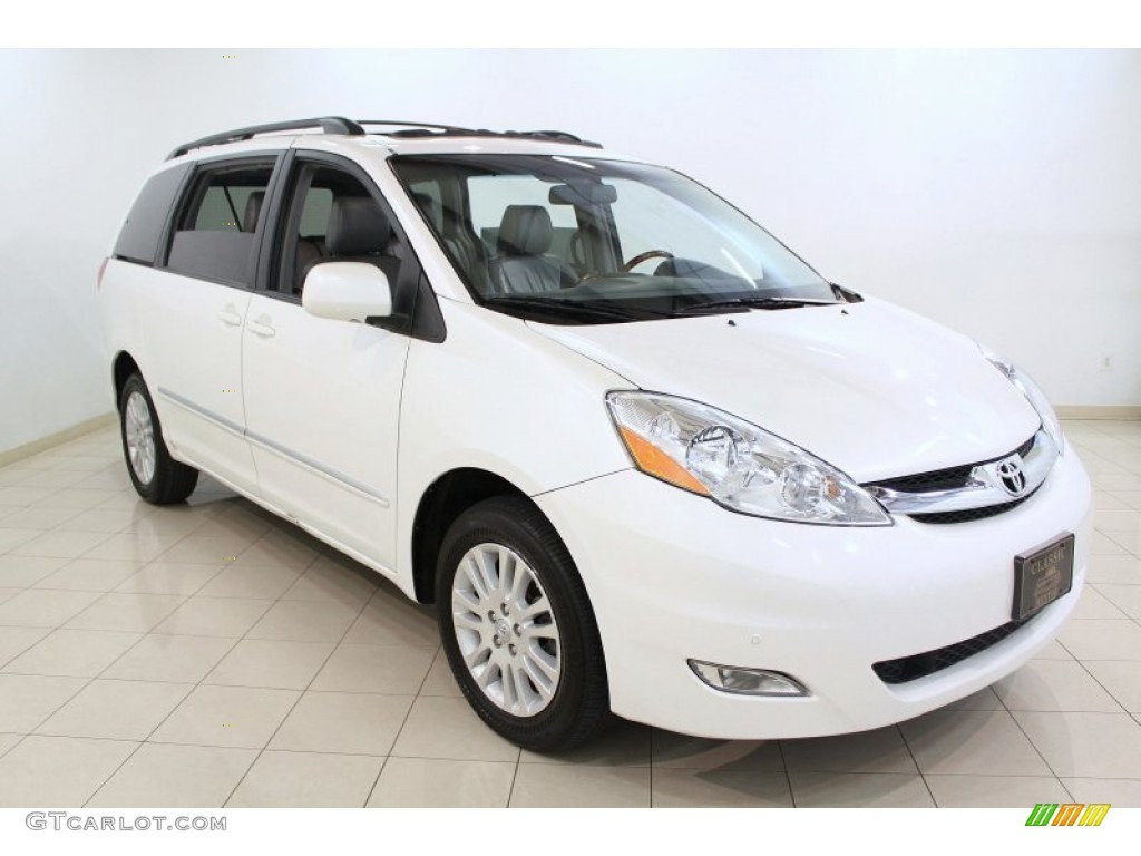 2009 blizzard white pearl toyota sienna limited awd. Black Bedroom Furniture Sets. Home Design Ideas