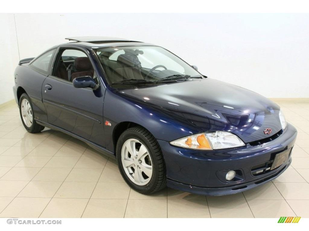 2002 Indigo Blue Metallic Chevrolet Cavalier Z24 Coupe ...