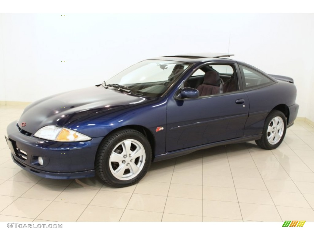 2002 indigo blue metallic chevrolet cavalier z24 coupe 66208047 photo 3 gtcarlot com car color galleries gtcarlot com
