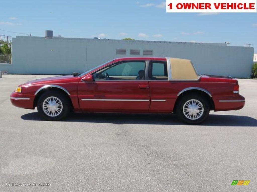 Laser Red Tinted Metallic 1996 Mercury Cougar XR7 Exterior ...
