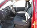 2009 Victory Red Chevrolet Silverado 1500 LT Regular Cab 4x4  photo #8