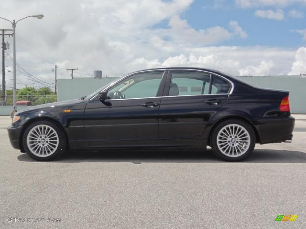 Jet Black 2002 Bmw 3 Series 330i Sedan Exterior Photo 66275871