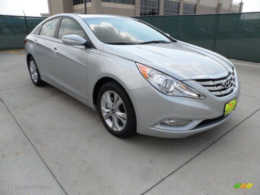 2013 Sonata Limited - Radiant Silver / Gray photo #1