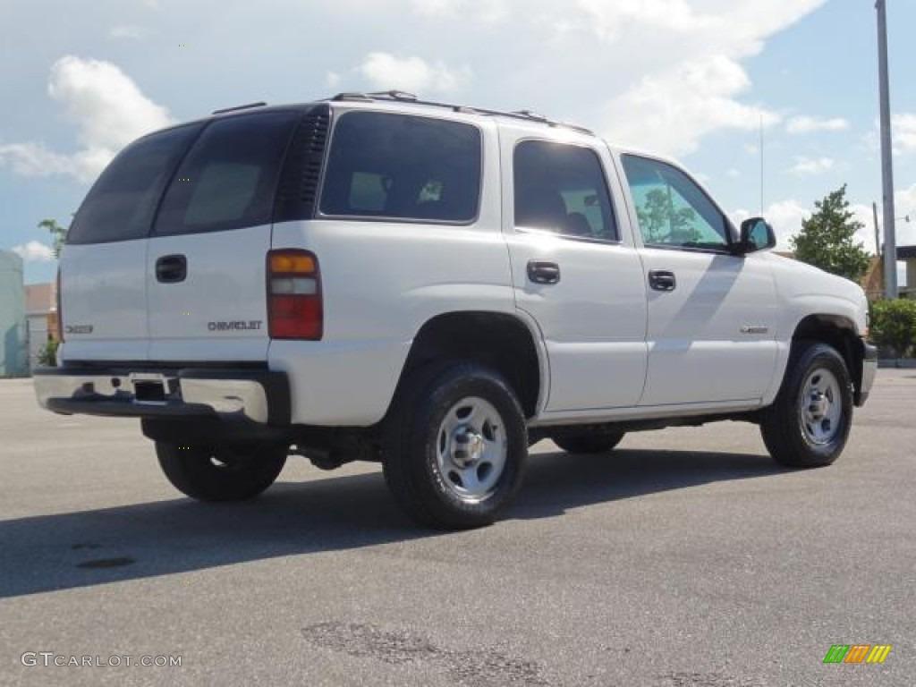 2002 chevy tahoe white