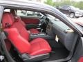 2012 Dodge Challenger Dark Slate Gray/Radar Red Interior Interior Photo