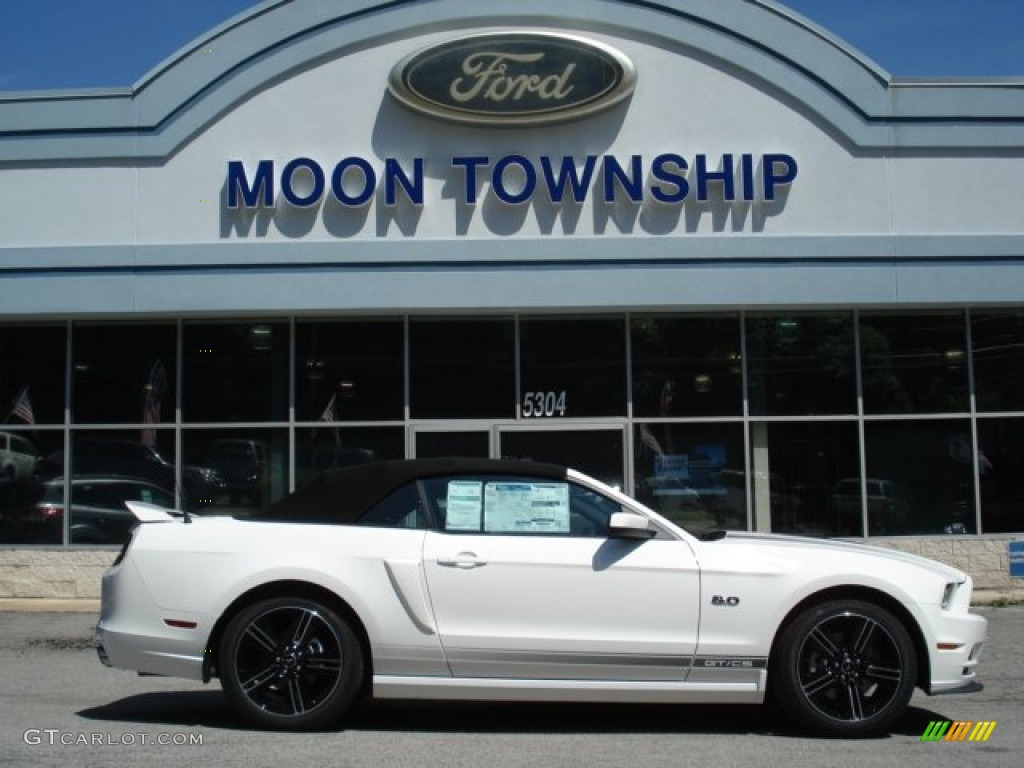 2013 Performance White Ford Mustang Gt Cs California Special