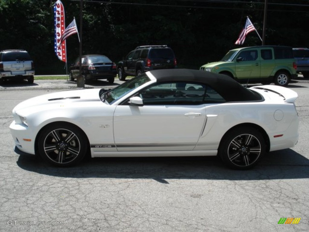 2013 mustang gtcs california special convertible performance white california special charcoal black - Ford Mustang 2013 White