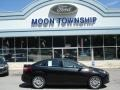 2012 Tuxedo Black Metallic Ford Focus Titanium Sedan  photo #1