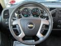 Ebony Steering Wheel Photo for 2011 Chevrolet Silverado 1500 #66289893