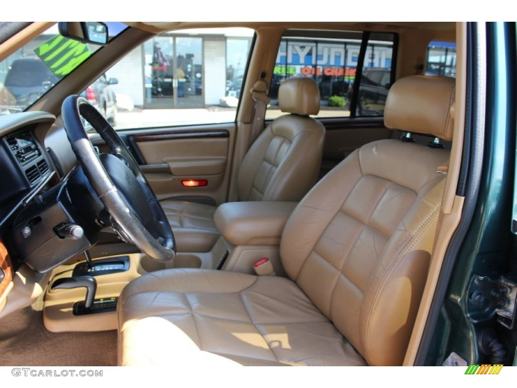 Camel Interior 1998 Jeep Grand Cherokee Limited 4x4 Photo