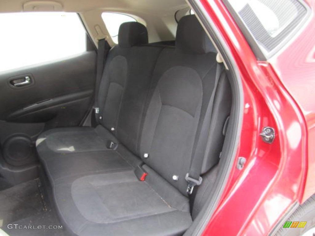 Black Interior 2011 Nissan Rogue S Awd Photo 66297521