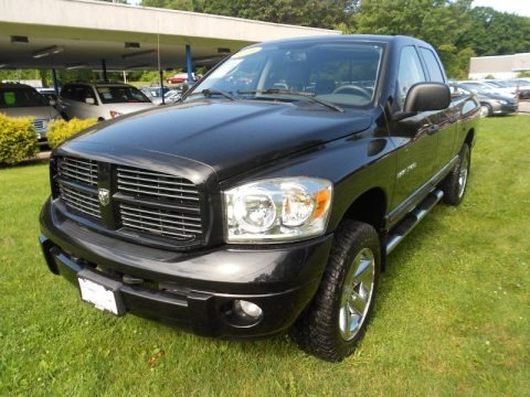 2006 dodge ram 1500 sport quad cab 4x4 data info and specs. Black Bedroom Furniture Sets. Home Design Ideas