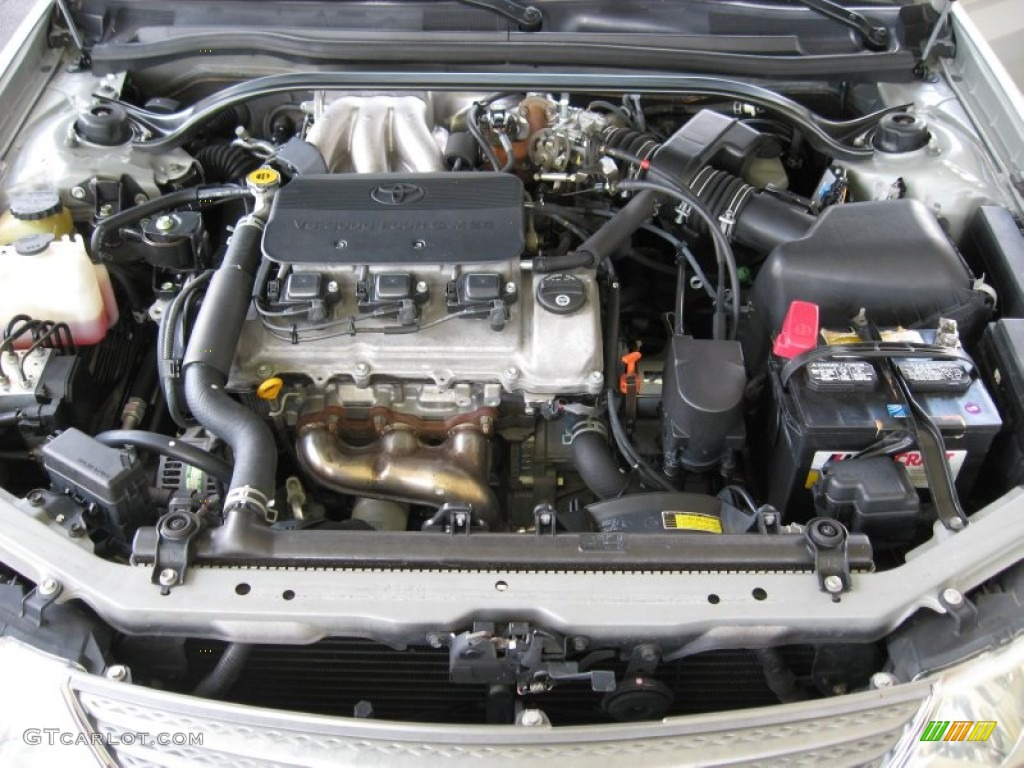 2002 Toyota Solara Sle V6 Convertible Engine Photos