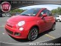 Rosso Brillante (Red) 2012 Fiat 500 Sport