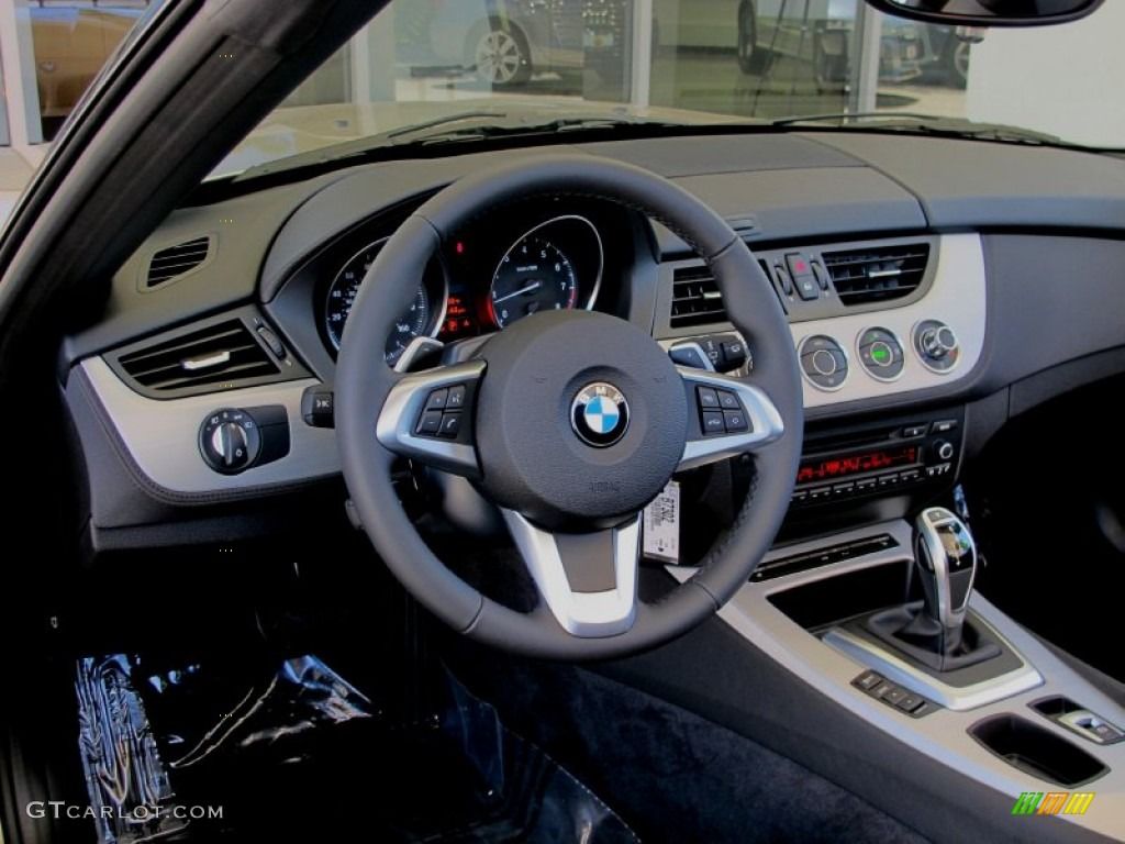 2012 Bmw Z4 Sdrive28i Black Dashboard Photo 66304148